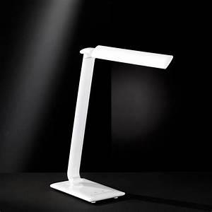 Tischlampe Led Dimmbar : dimmbare led tischlampe mit usb anschluss ~ Whattoseeinmadrid.com Haus und Dekorationen