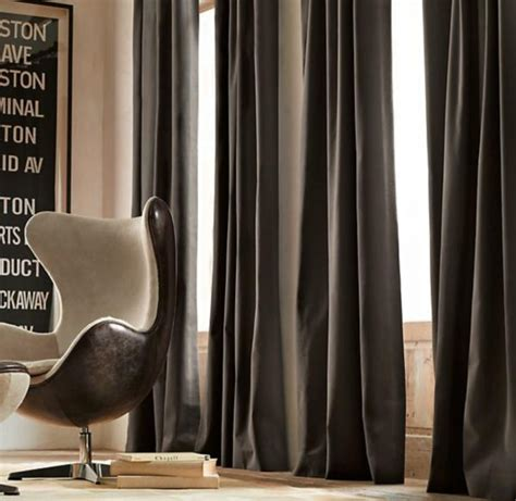 Modern Curtains For Grey Living Room by Drapery Ideas For The Modern Home