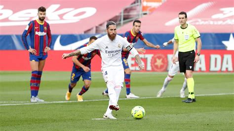 Sergio Ramos leads Real Madrid to 3-1 El Clasico win at ...