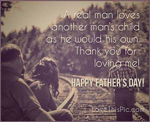 A Real Man Loves Another Womans Child Like His Own Happy ...