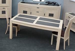 Table Chene Blanchi : table contemporaine ch ne blanchi r f bp ~ Teatrodelosmanantiales.com Idées de Décoration