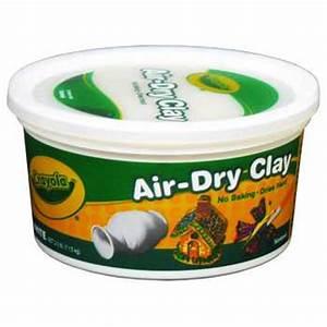 White Crayola Air-Dry Clay Hobby Lobby 471961