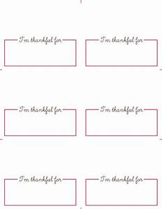free thanksgiving place card printables roseville designs With free placecard template