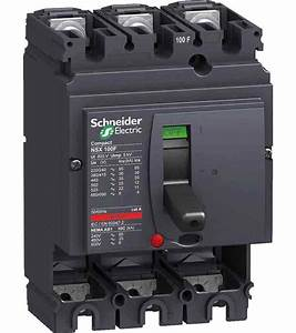 Buy Schneider Lv540305 Thermal Magnetic Trip 3 Pole Molded Case Circuit Breaker Mccb   Best