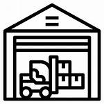 Inventory Icon Shelves Icons Cargo China Packaging
