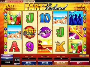 Microgaming Party Island Video Slot Game Review
