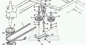 Yamahagenuineparts Com  Yt6800 Drive Belt And Pto Belt