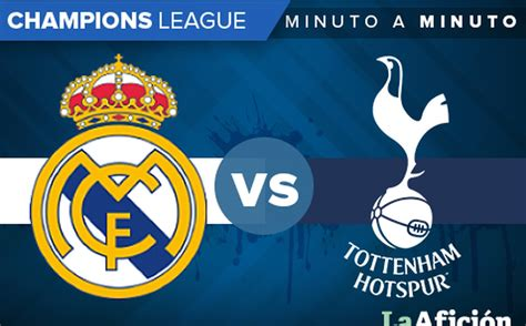 Real Madrid vs Tottenham; Champions League (1-1): GOLES