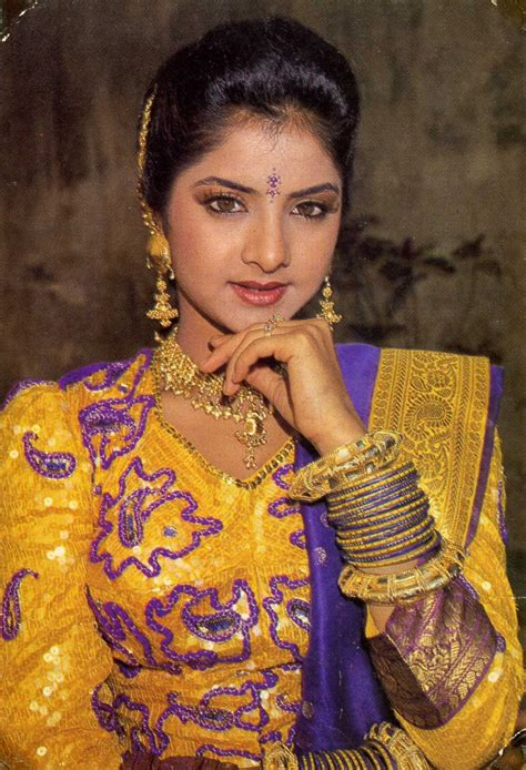 Bollywood Celebrity Divya Bharti Indian Film Actress