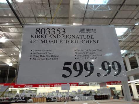 Kirkland Signature 42 Inch Mobile Tool Chest