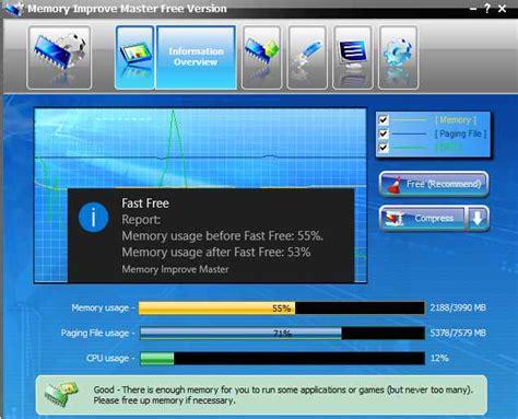 best free optimizer 17 best free memory optimizer software for windows