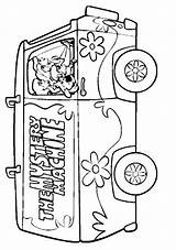 Scooby Doo Coloring Funny Mystery Machine Sheets Vw Coloriage Bus Clipart Colouring Clip Hygiene Library Health Colorier Popular Quotes sketch template