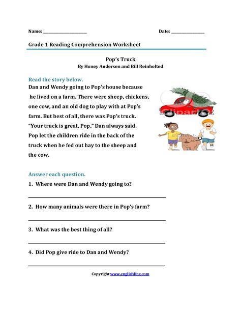 reading worksheets grade reading worksheets