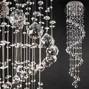Lustre Design Pas Cher : pas cher plafonnier lampe lustre en cristal applique ~ Melissatoandfro.com Idées de Décoration