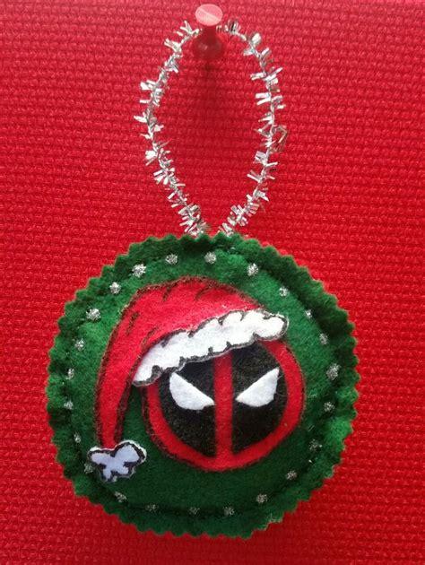deadpool christmas ornament deadpool deadpool