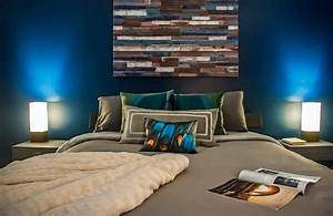 deco chambre bleu et taupe exemples d39amenagements With chambre bleu et taupe