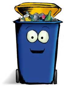 Cartoon Recycle Bin