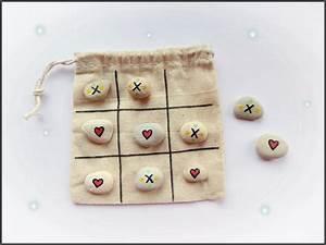 Tic Tac Toe Spiel : diy steinspiel tic tac toe atelier traumwelle ~ Orissabook.com Haus und Dekorationen