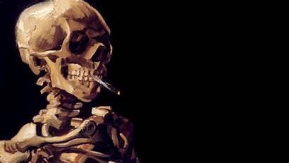 Skeleton Smoking Background Dark Wallpapers Cool Backgrounds