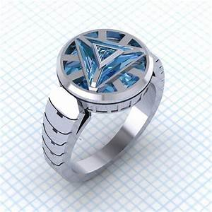 power your jewelry box with this arc reactor ring by paul With iron man wedding ring