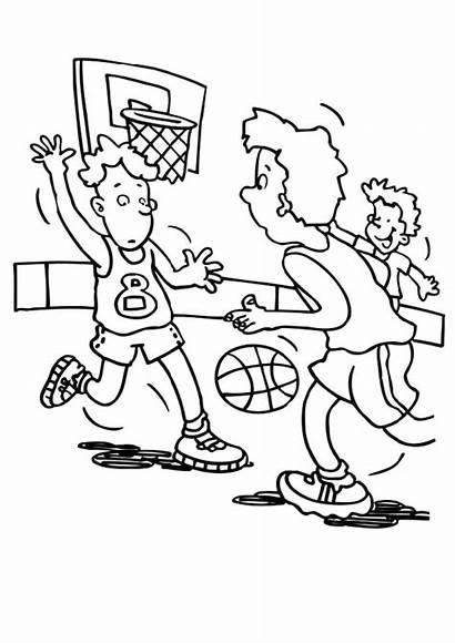 Coloring Basketball Nba College Bulls Colorluna Chicago