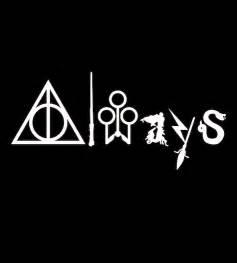Harry Potter Always T-Shirt Designs