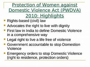 Laws Against Domestic Violence And Abuse | Indian Legal System