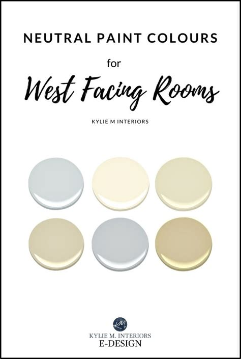 the best paint colours for west facing rooms