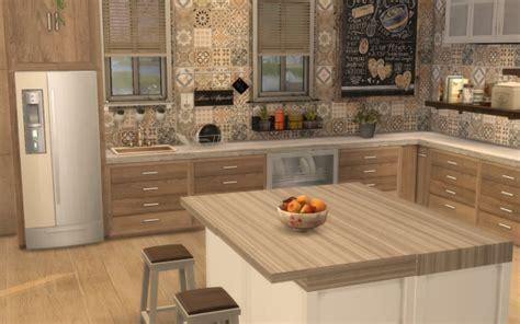 deco cuisine rustique sims 4 deco rustique cuisine kitchen chic moderne
