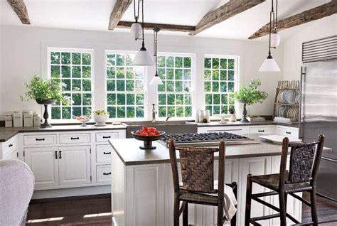 lo que debes llevar a cocinas blancas rusticas las 30 cocinas blancas modernas que la a petar el 2017