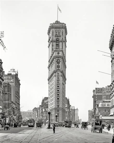 Manhattan Circa 1908 Glass Negative Via Detroit