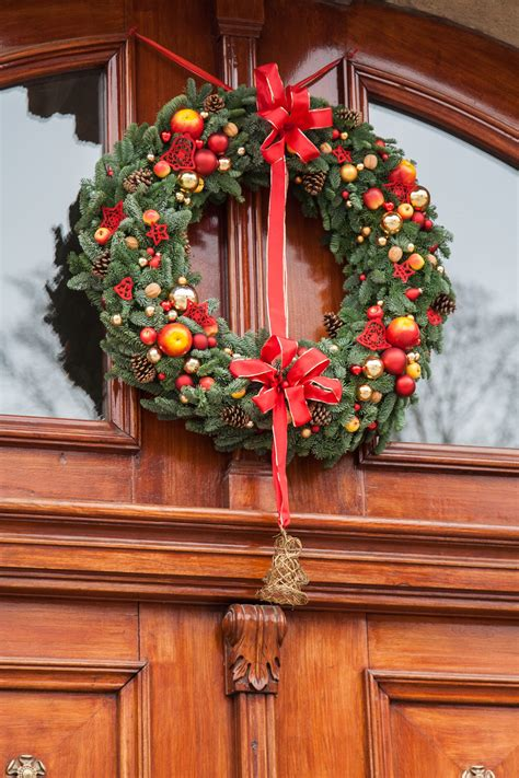 images flower red decor wreath ornament
