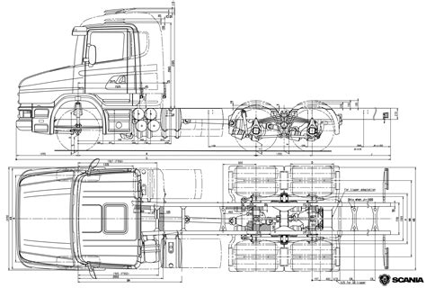scania t series blueprint download free blueprint for 3d modeling