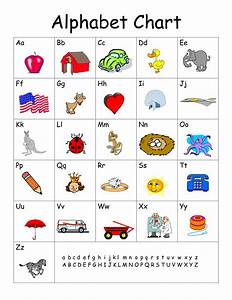 abc chart printable pdf sample abc chart 7 free With letter chart with pictures