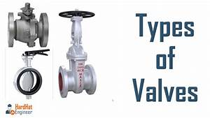 Types Of Valve Used In Piping