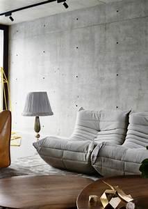 Canapé Style Togo : 42 photos inspirantes de la chauffeuse basse pour le salon ~ Voncanada.com Idées de Décoration
