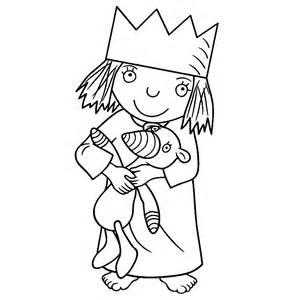 Kleurplaat Prinses Met Kleine Huisjes by Leuk Voor Kleine Prinses 0004