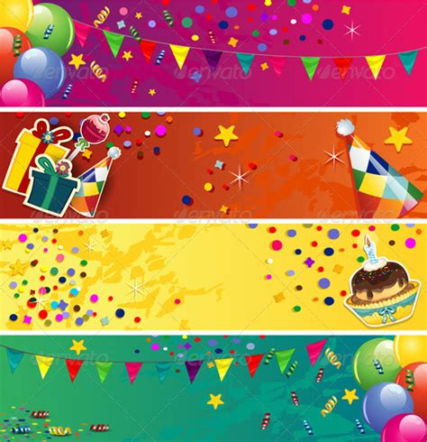 birthday banner designs jpg vector eps ai