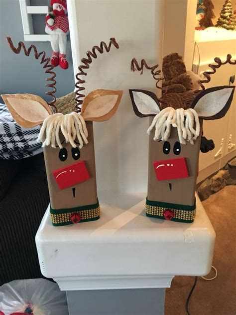 reindeer craft to sell best 25 wood decorations ideas on wood crafts wood