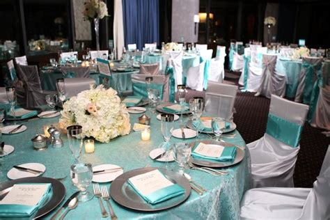 tiffany blue charger table settings google search