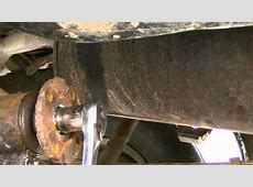 Replacing a Differential rear end Seal YouTube