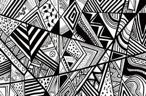 Grafische Muster Schwarz Weiß : union der figuralen muster trend 2016 beim w nde gestalten ~ Bigdaddyawards.com Haus und Dekorationen