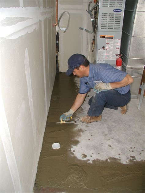 Interior Basement Drainage Systems   Perma Dry Waterproofing