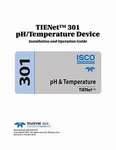 Tienet U2122 301 Ph  Temperature Device
