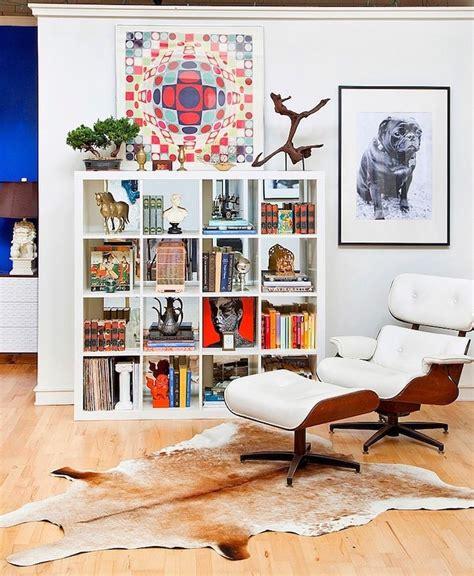 bureau couleur étagère kallax ikea 69 idées originales de l 39 utiliser