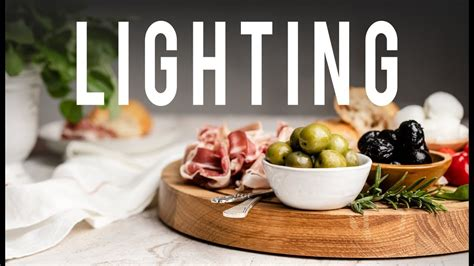 awesome lighting tricks  food photography