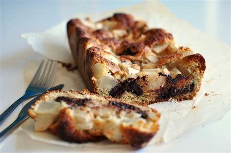 pear  chocolate cake recipe   breakfast