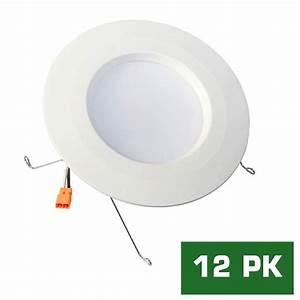 Envirolite easy up in warm white led recessed light
