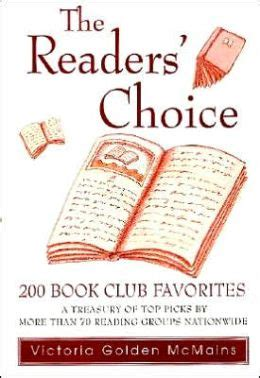 Barnes And Noble Book Club Picks by Readers Choice 200 Book Club Favorites By