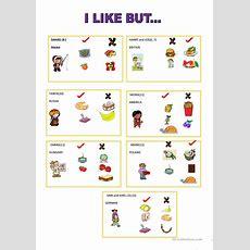 I Like But Speaking Card Worksheet  Free Esl Printable Worksheets Made By Teachers